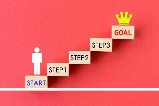 ビジネスステップのイメージ